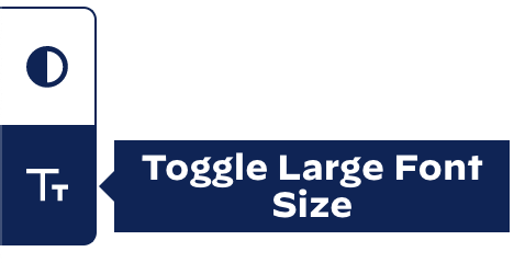 Toggle Large Font Size ボタンイメージ